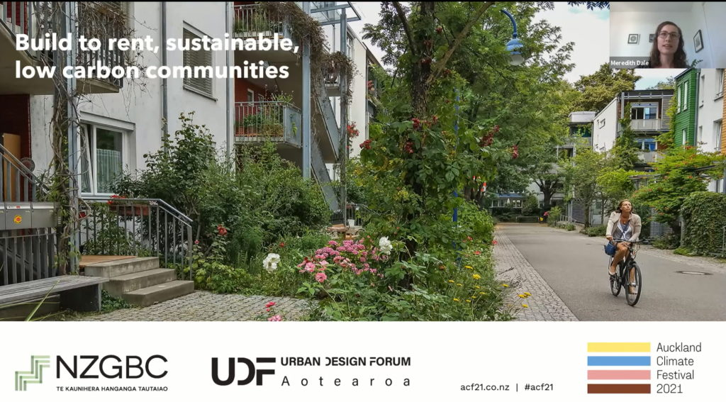 Build to rent, sustainable, low carbon communities